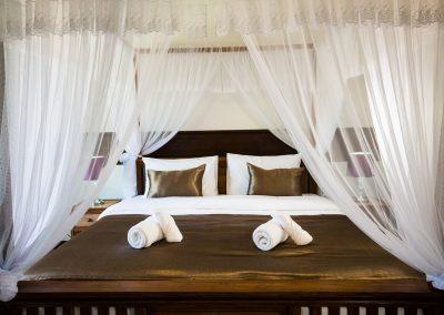 ห้องนอนโรงแรมระดาธีรี เชียงใหม่