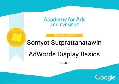 Google Academy Achievement