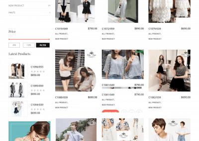 เว็บไซต์ขายของออนไลน์ Odee Style-shop