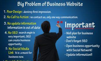 6 ปัญหาใหญ่ของเว็บไซต์คุณภาพต่ำ