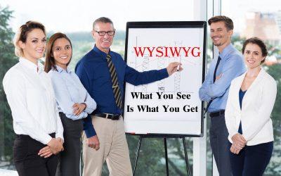 การแก้ไขเว็บไซต์ง่ายๆ ด้วยนวัตกรรม WYSIWYG