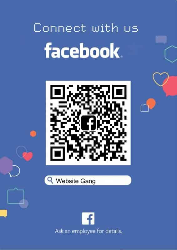 Facebook Fan page websitegang