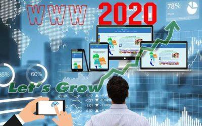 ออกแบบเว็บไซต์ ปี 2020