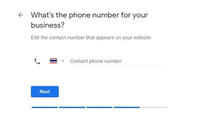 หมายเลขโทรศัพท์
